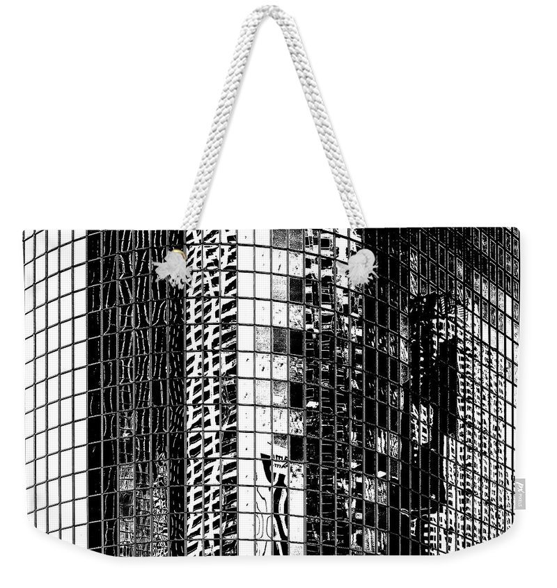 Los Angeles Weekender Tote Bag featuring the photograph The City Within by Az Jackson