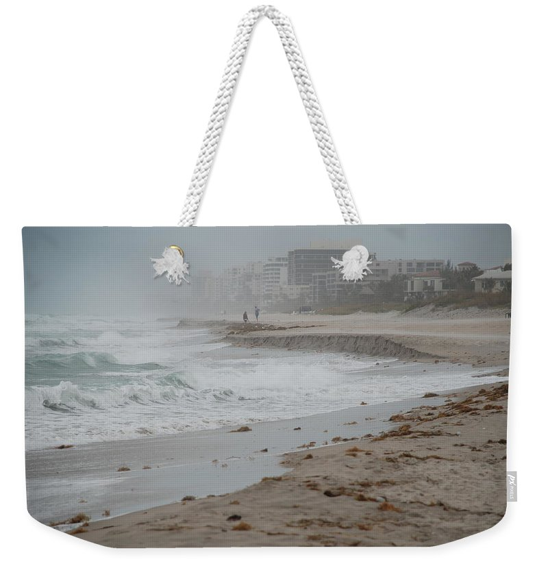 Water Weekender Tote Bag featuring the photograph The Coast by Rob Hans