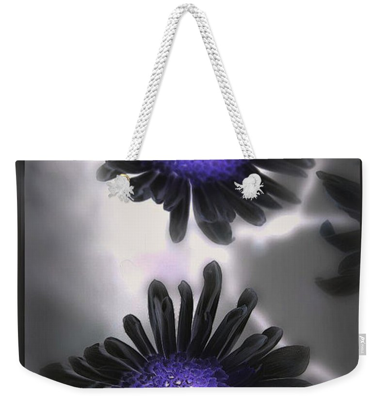 Flowers Weekender Tote Bag featuring the photograph The Color Within by Linda Sannuti