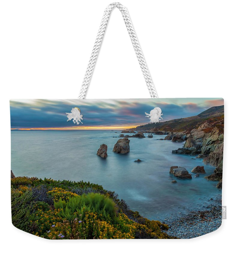 Landscape Weekender Tote Bag featuring the photograph The Colors Of Summer by Jonathan Nguyen