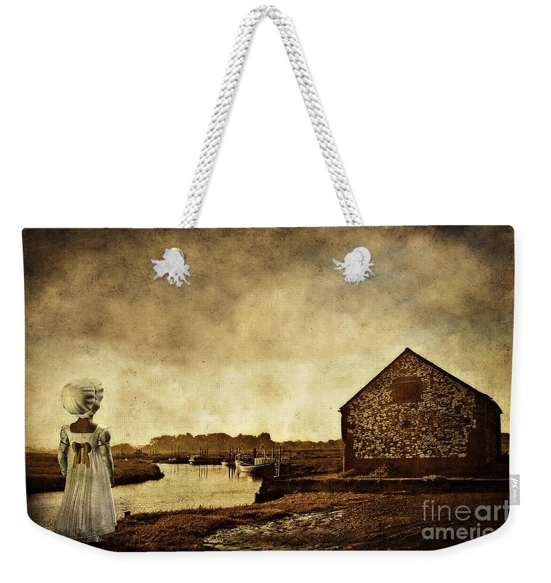 Thornam Creek Weekender Tote Bag featuring the photograph The Creek by John Edwards