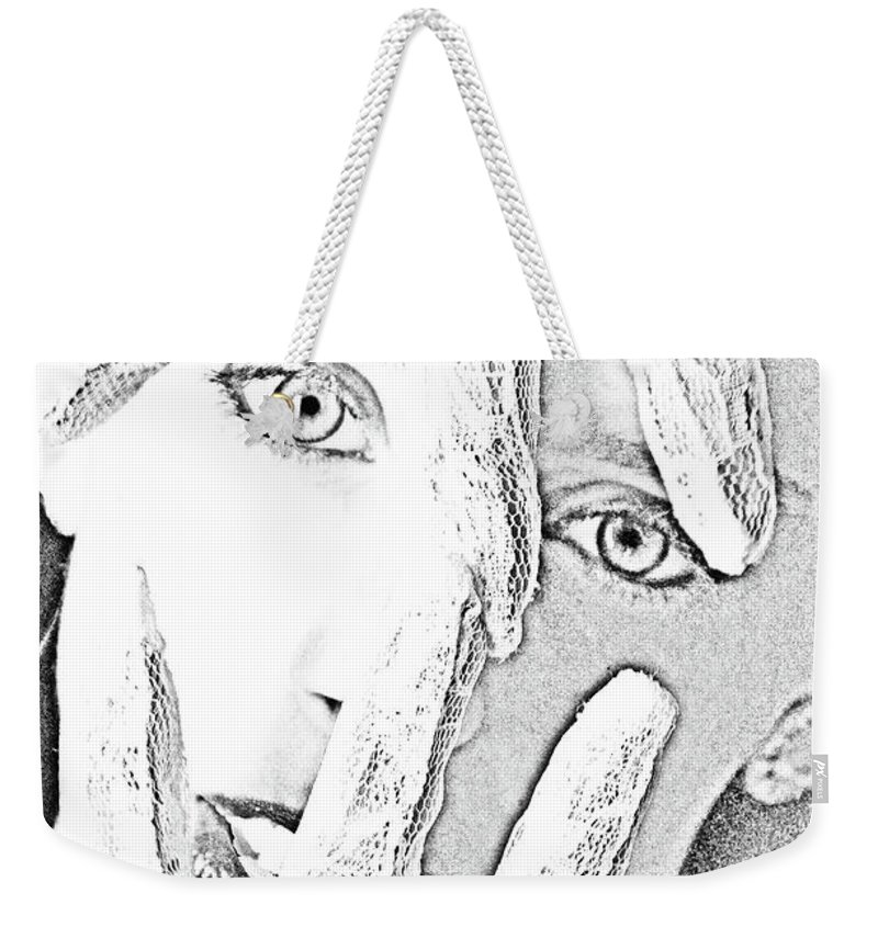 Heroin Weekender Tote Bag featuring the photograph The Crisis by Robert Magnus