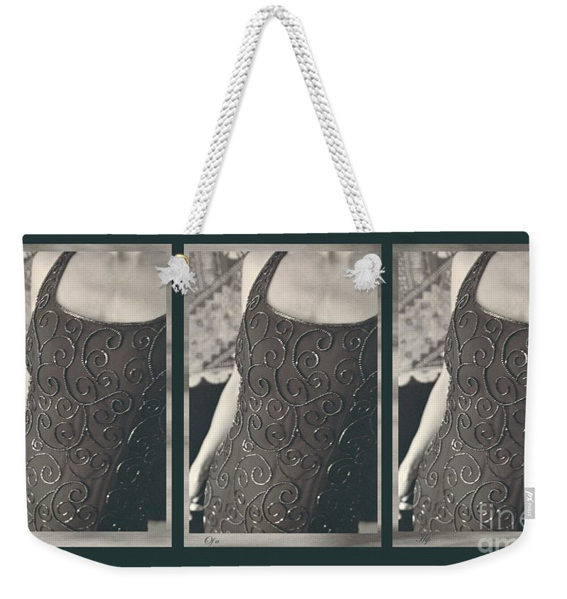 Weekender Tote Bag featuring the photograph The Curve Of The Hip by Heather Kirk