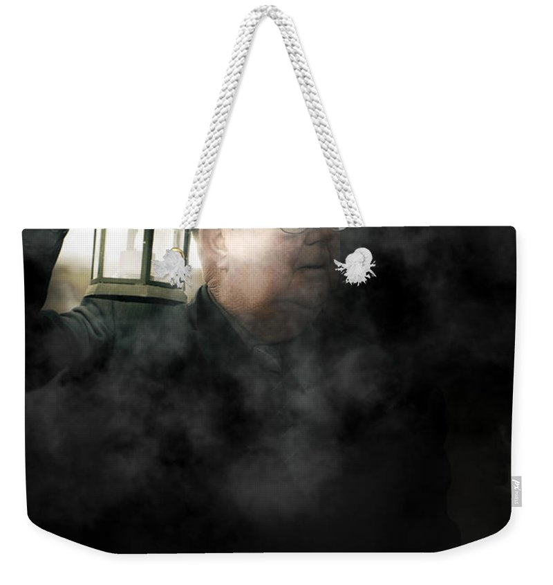 Person Weekender Tote Bag featuring the photograph The Dead Of Night by Jorgo Photography - Wall Art Gallery