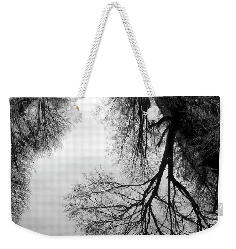 The Delaware And Raritan Canal Weekender Tote Bag featuring the photograph The Delaware And Raritan Canal by Dave Mills