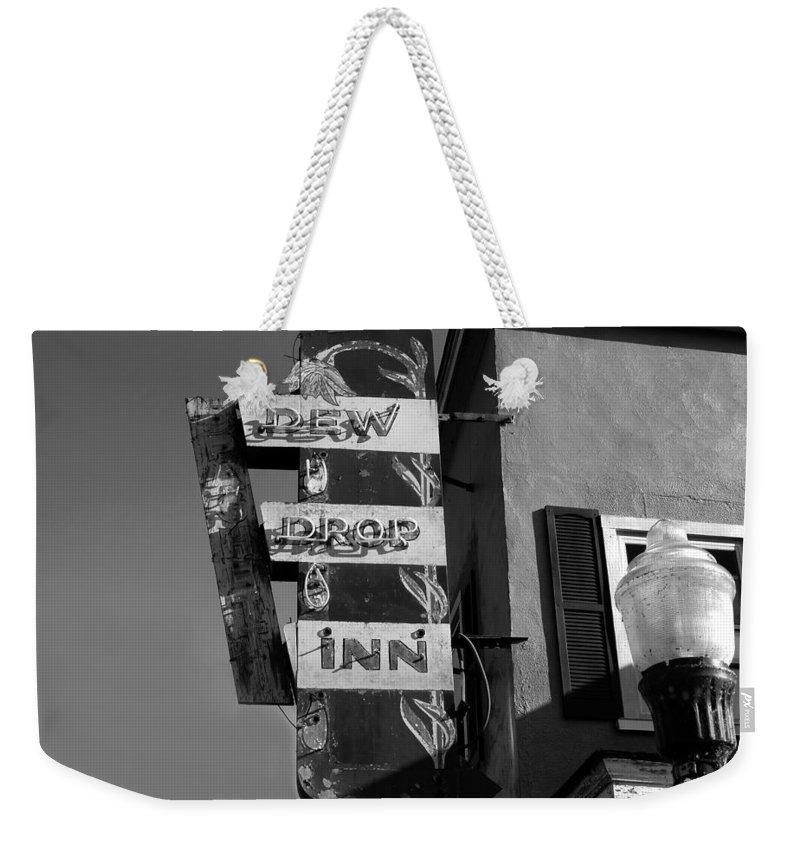 Dew Drop Inn Weekender Tote Bag featuring the photograph The Dew Drop Inn by David Lee Thompson