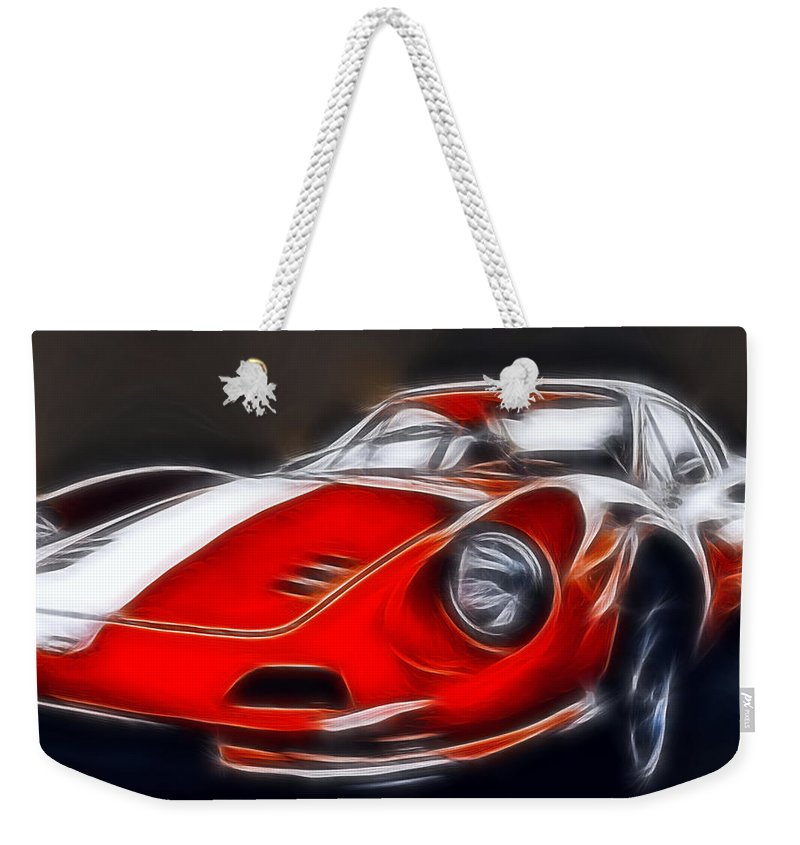 Auto Weekender Tote Bag featuring the photograph The Dino by Joachim G Pinkawa