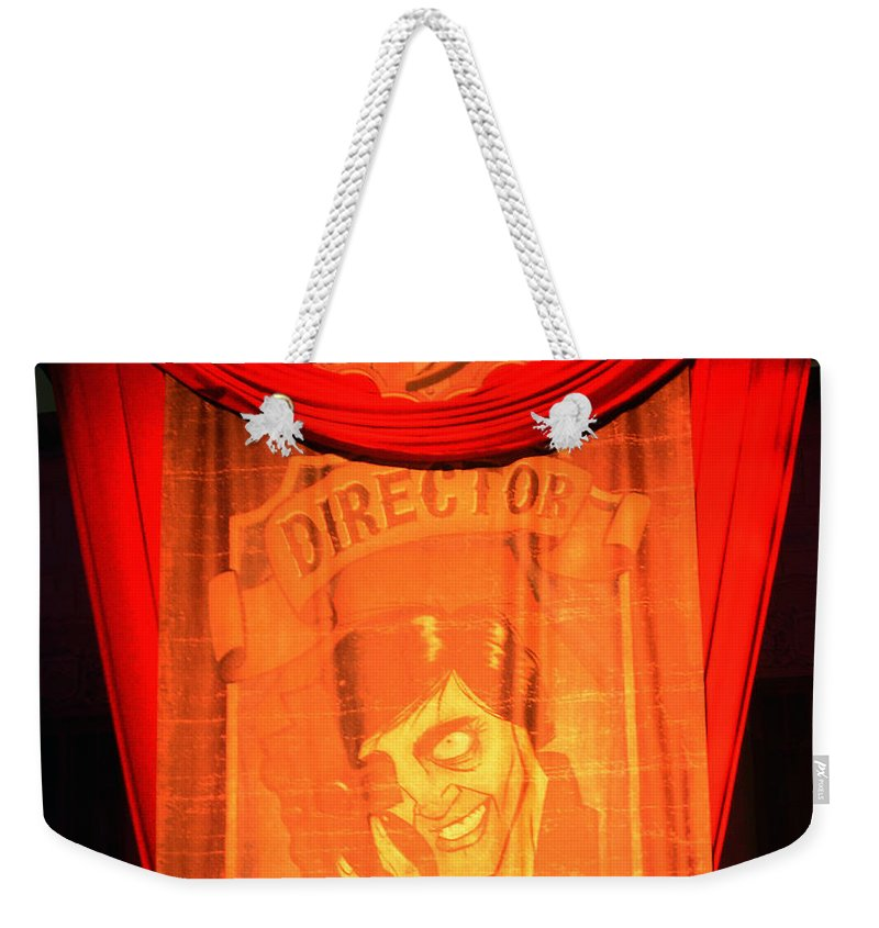 Hhn 25 Weekender Tote Bag featuring the photograph The Director Hhn 25 by David Lee Thompson