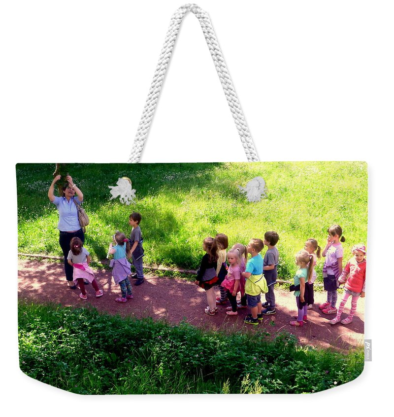 Henryk Weekender Tote Bag featuring the photograph The Discovery Of Rowan by Henryk Gorecki