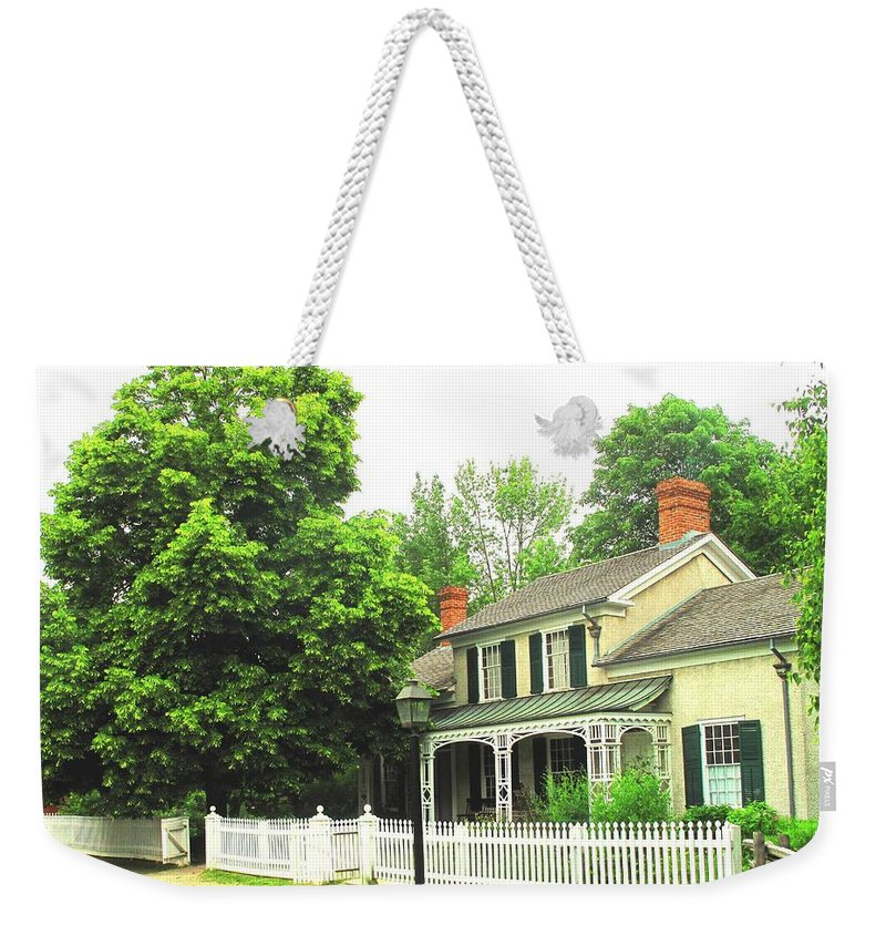 Doctor Weekender Tote Bag featuring the photograph The Doctors House by Ian MacDonald