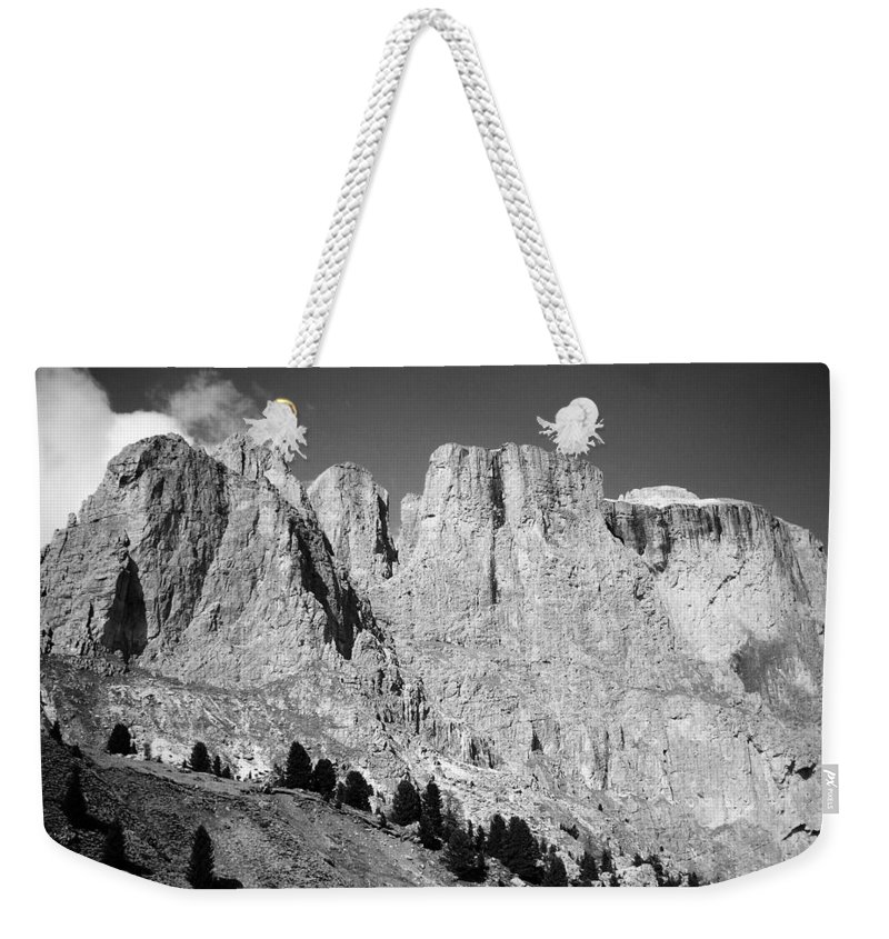 Europe Weekender Tote Bag featuring the photograph The Dolomites by Juergen Weiss
