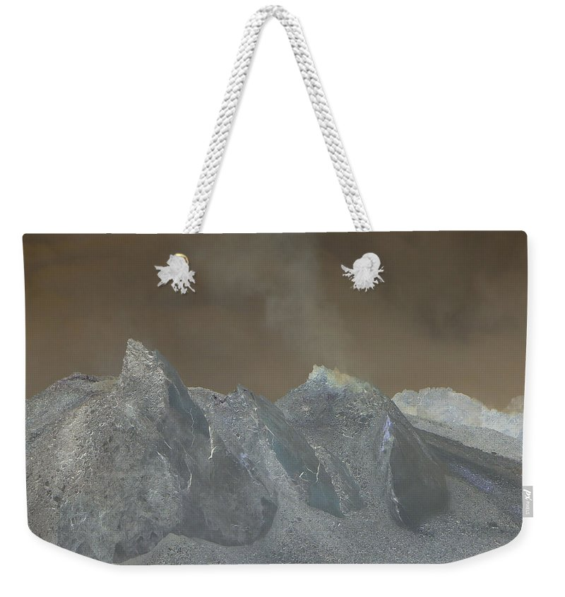 Dome Weekender Tote Bag featuring the photograph The Dome Of Mt St Helens by Jeff Swan