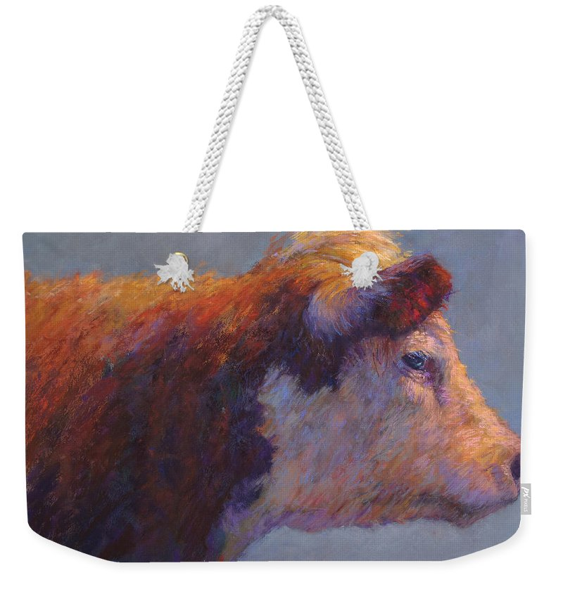 Animals Weekender Tote Bag featuring the painting The Dreamer by Susan Williamson