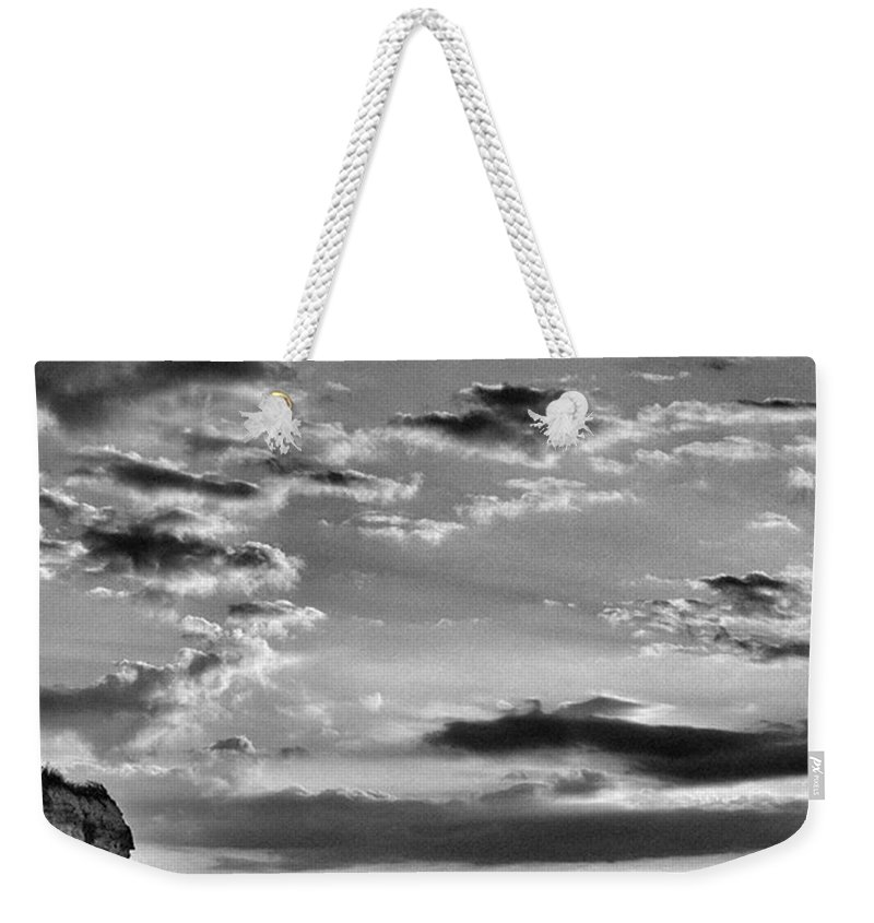 Natureonly Weekender Tote Bag featuring the photograph The End Of The Day, Old Hunstanton by John Edwards