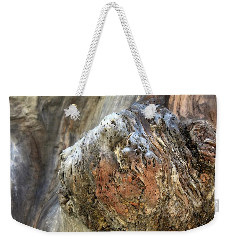 Face Weekender Tote Bag featuring the photograph The Face by Munir Alawi
