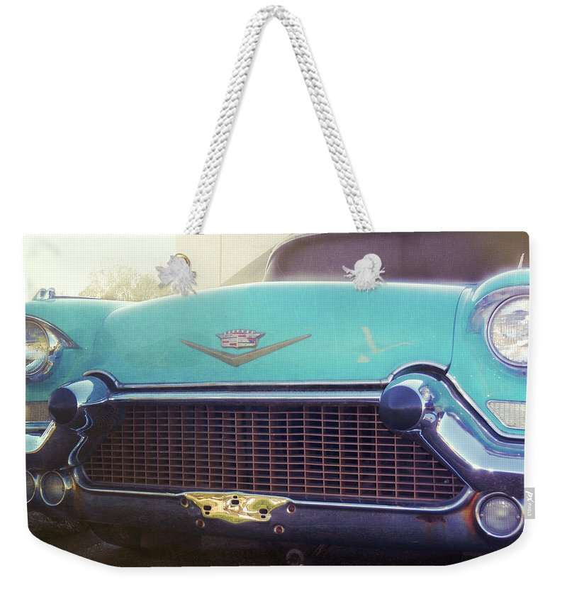 Elvis Weekender Tote Bag featuring the photograph The Famous 57 Seville by JAMART Photography