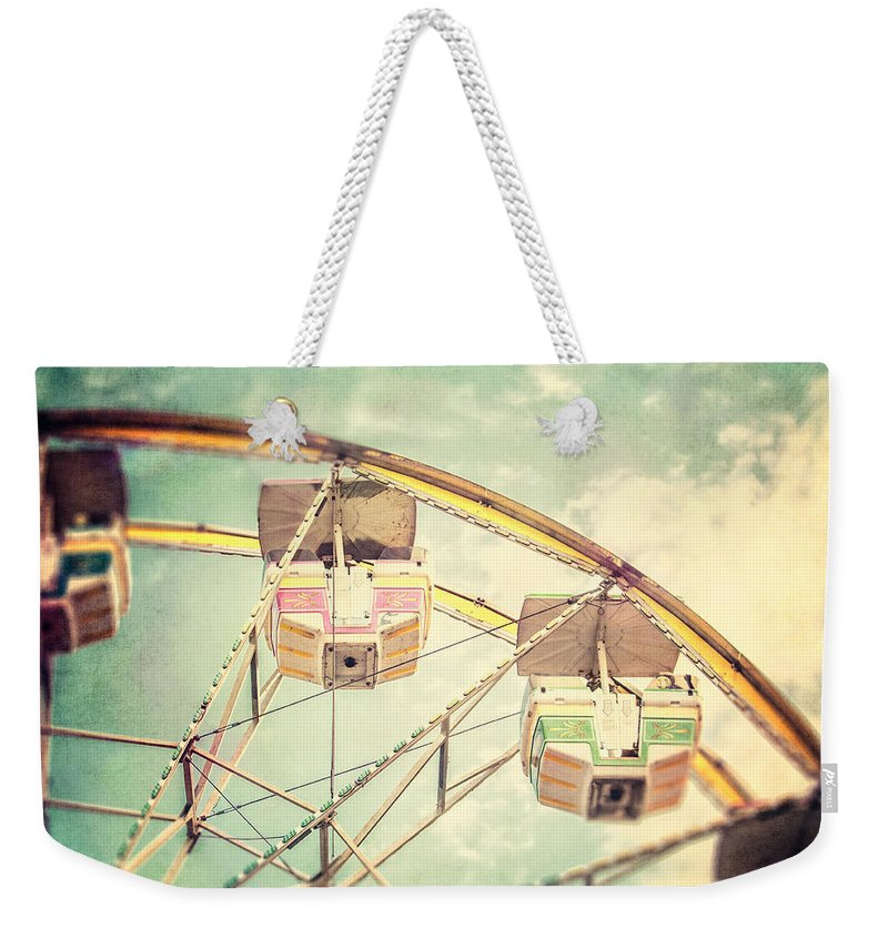 Ferris Wheel Weekender Tote Bag featuring the photograph The Ferris Wheel by Lisa Russo