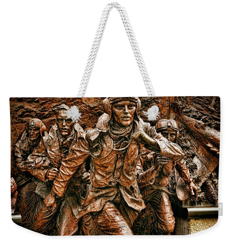 Battle Of Britain Weekender Tote Bag featuring the digital art The Few by Leigh Kemp