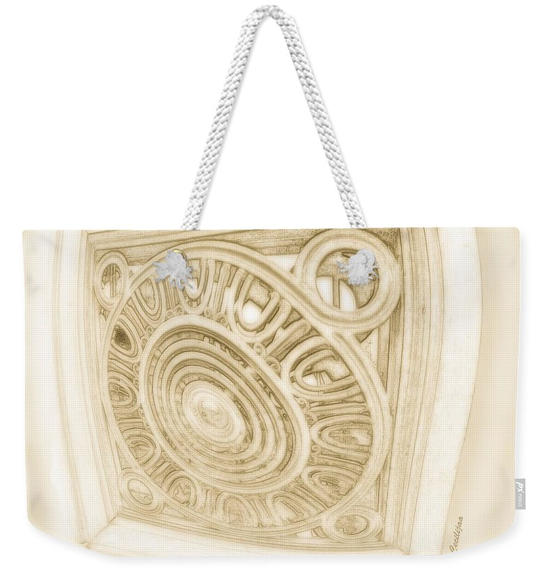 Weekender Tote Bag featuring the photograph The Fish Eye by Svetlana Stefanovic