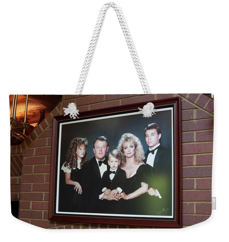 Fontanel Weekender Tote Bag featuring the photograph The Fontanel Mansion Farm - Former Home Of Barbara Mandrell Outside Nashville, Tennessee by Timothy Wildey
