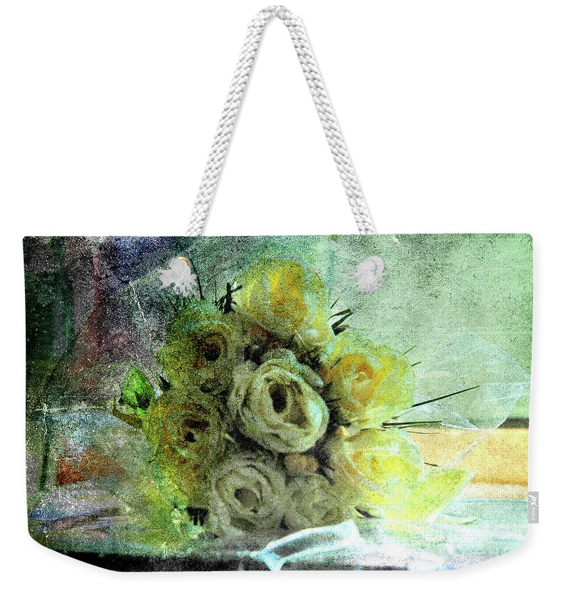 Forgotten Flowers Weekender Tote Bag featuring the photograph The Forgotten Flowers by Susanne Van Hulst
