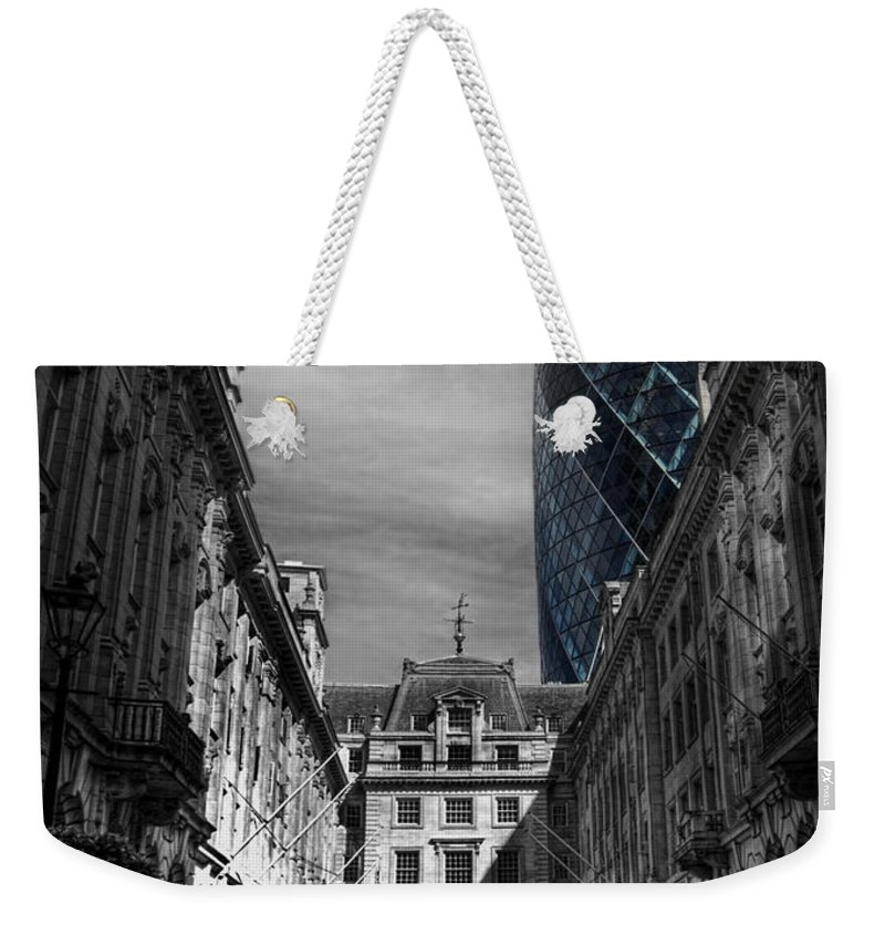 Yhun Suarez Weekender Tote Bag featuring the photograph The Future Behind The Past by Yhun Suarez