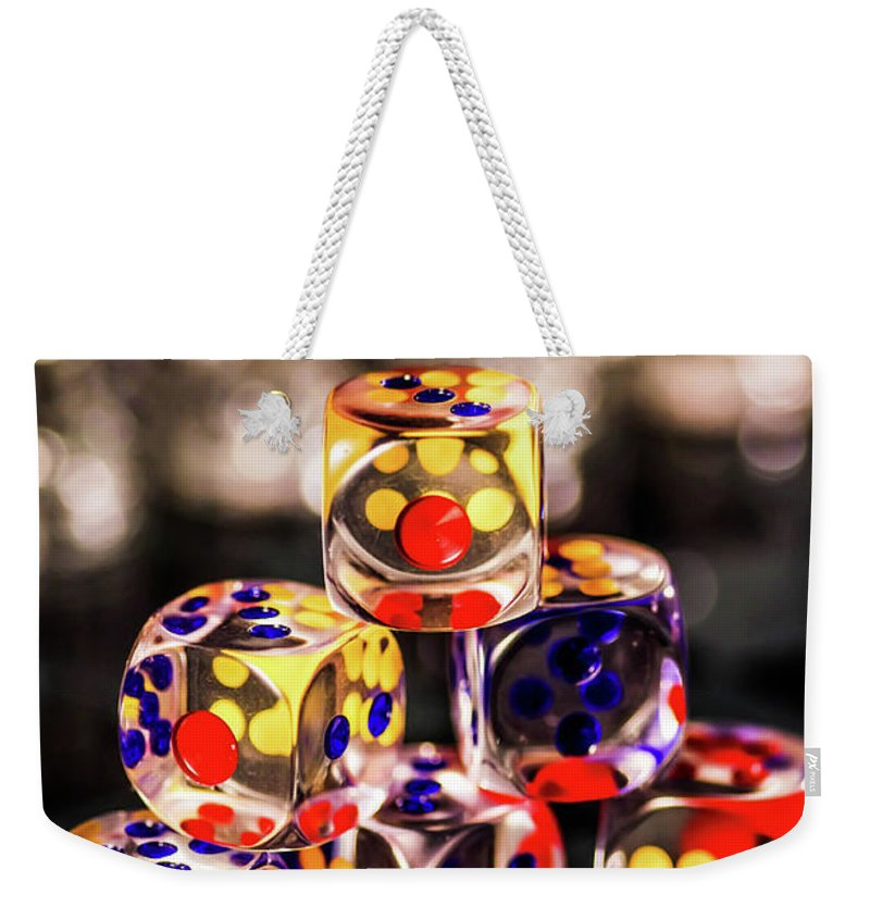 Weekender Tote Bag featuring the photograph The Game by Gerald Kloss