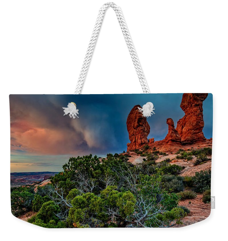 Garden Of Eden Weekender Tote Bag featuring the photograph The Garden Of Eden by Rick Berk
