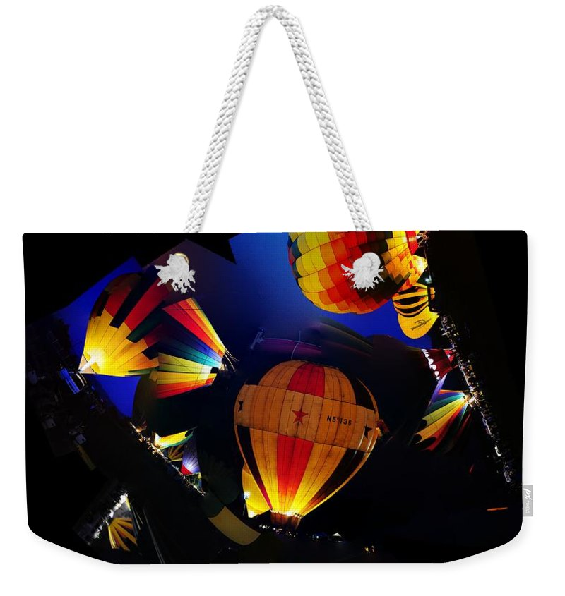 Clay Weekender Tote Bag featuring the photograph The Glow by Clayton Bruster