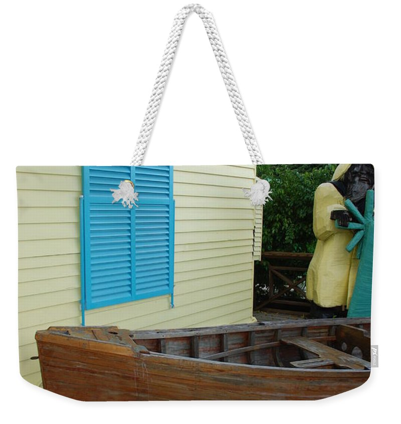 Architecture Weekender Tote Bag featuring the photograph The Gordons Fisherman House by Rob Hans