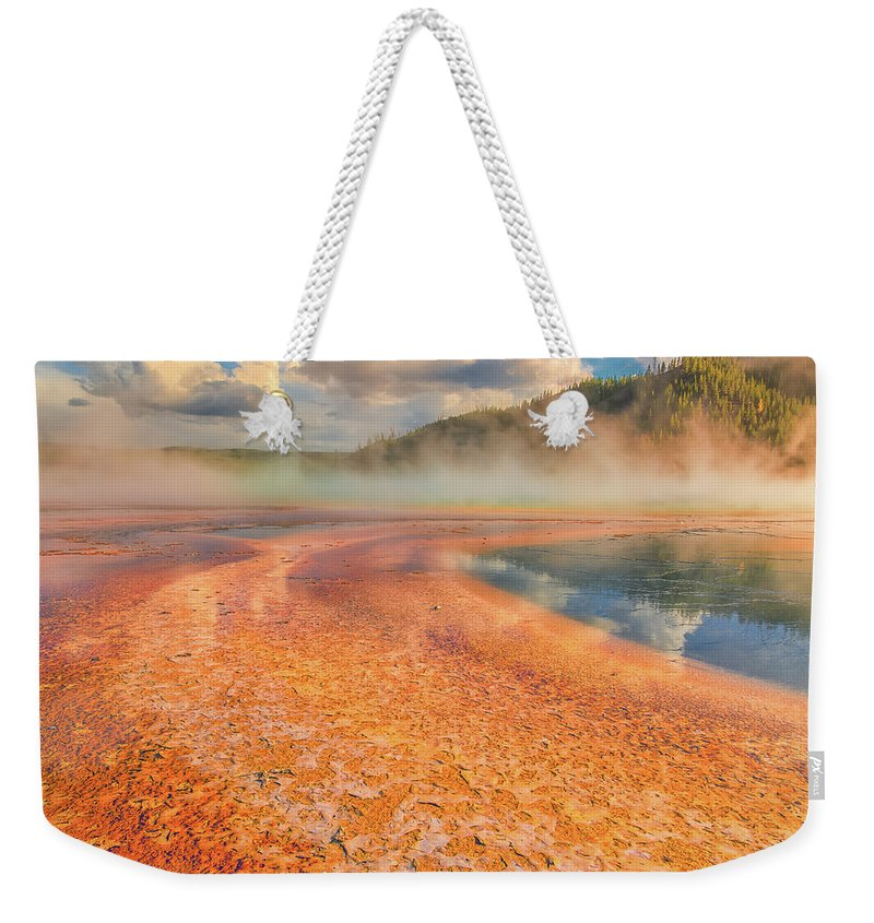 Luis Ramirez Weekender Tote Bag featuring the photograph The Grand Prismatic by Luis A Ramirez