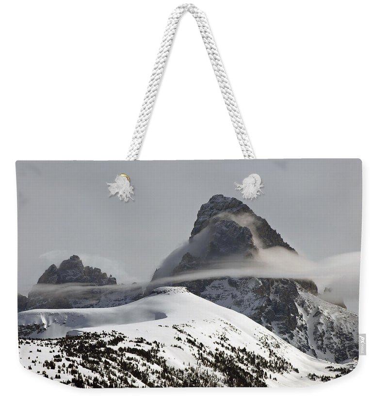 Landscape Weekender Tote Bag featuring the photograph The Grand's Skirt by DeeLon Merritt