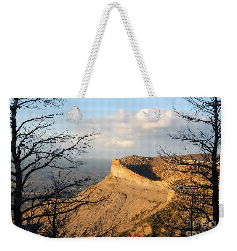 Mesa Weekender Tote Bag featuring the photograph The Great Mesa by David Lee Thompson