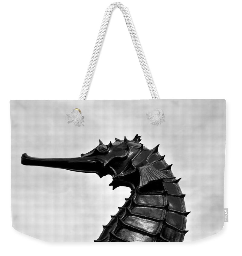Fine Art Photography Weekender Tote Bag featuring the photograph The Great Sea Horse by David Lee Thompson