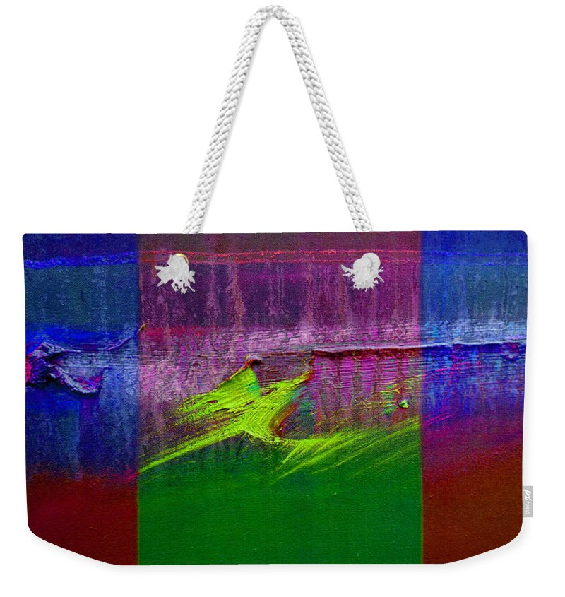 Landscape Weekender Tote Bag featuring the painting The Green Dragon by Charles Stuart