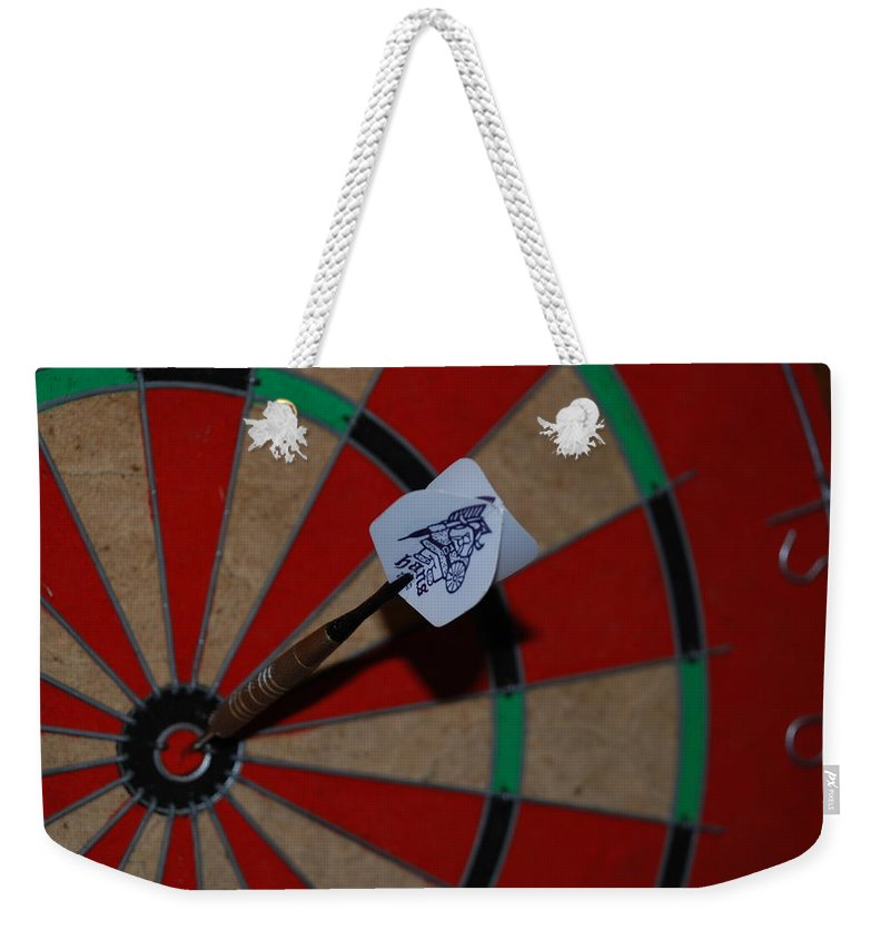 Macro Weekender Tote Bag featuring the photograph The Hans Flight by Rob Hans