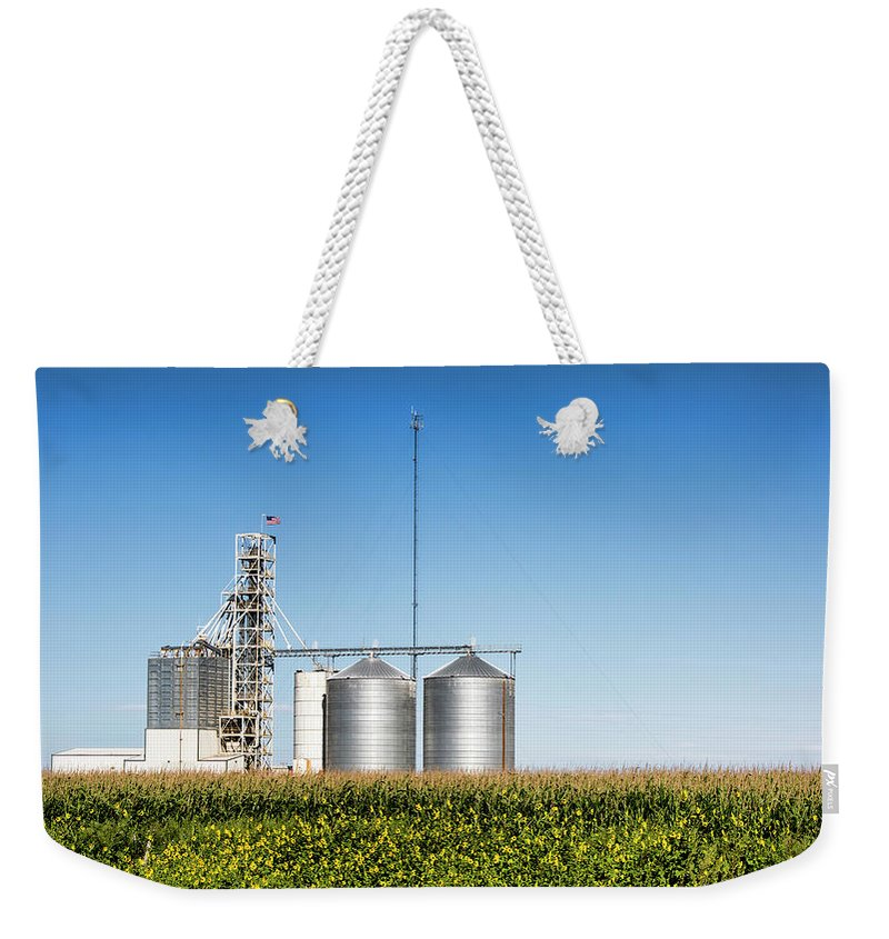 Farm Weekender Tote Bag featuring the photograph The Heartland by Photopoint Art