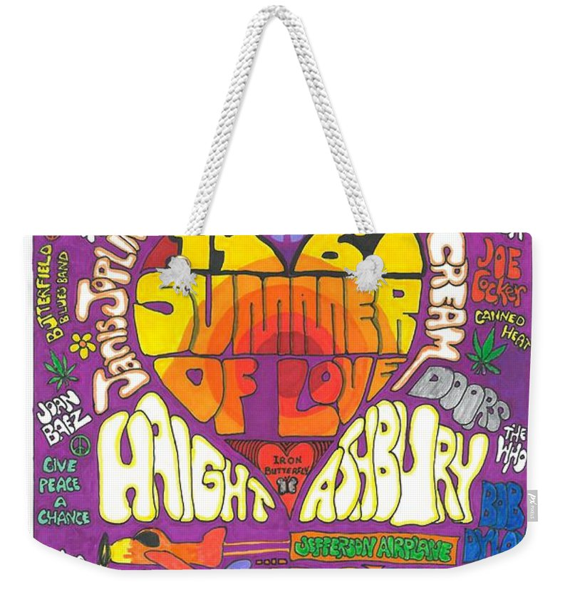 1967 Weekender Tote Bag featuring the drawing The Height of Highness by David Sutter