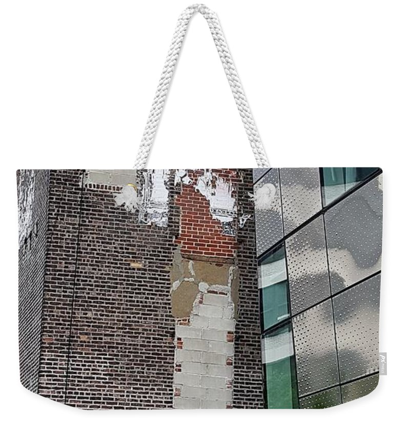 The High Line Weekender Tote Bag featuring the photograph The High Line 153 by Rob Hans