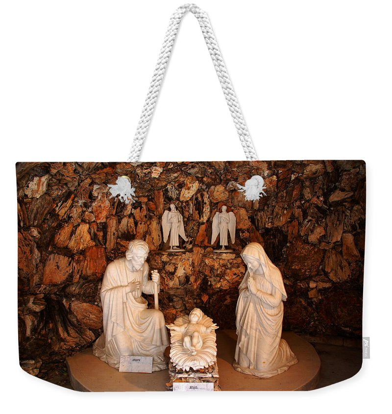 The Holy Family Weekender Tote Bag featuring the photograph The Holy Family by Susanne Van Hulst
