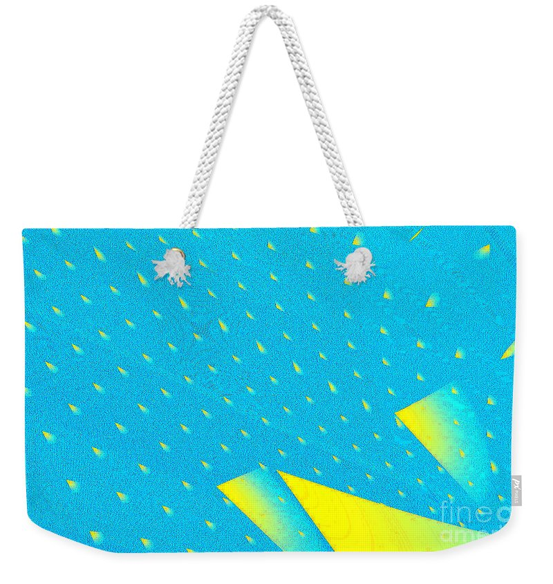 Clay Weekender Tote Bag featuring the digital art The Illusion by Clayton Bruster