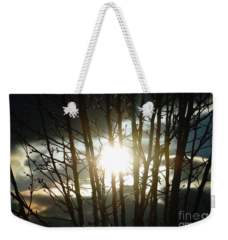 Sun Weekender Tote Bag featuring the photograph The In Between by September Stone