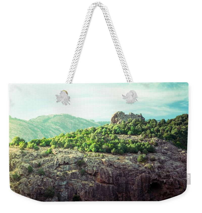 Forest Weekender Tote Bag featuring the photograph The Inaccessible Forest by Radek Spanninger