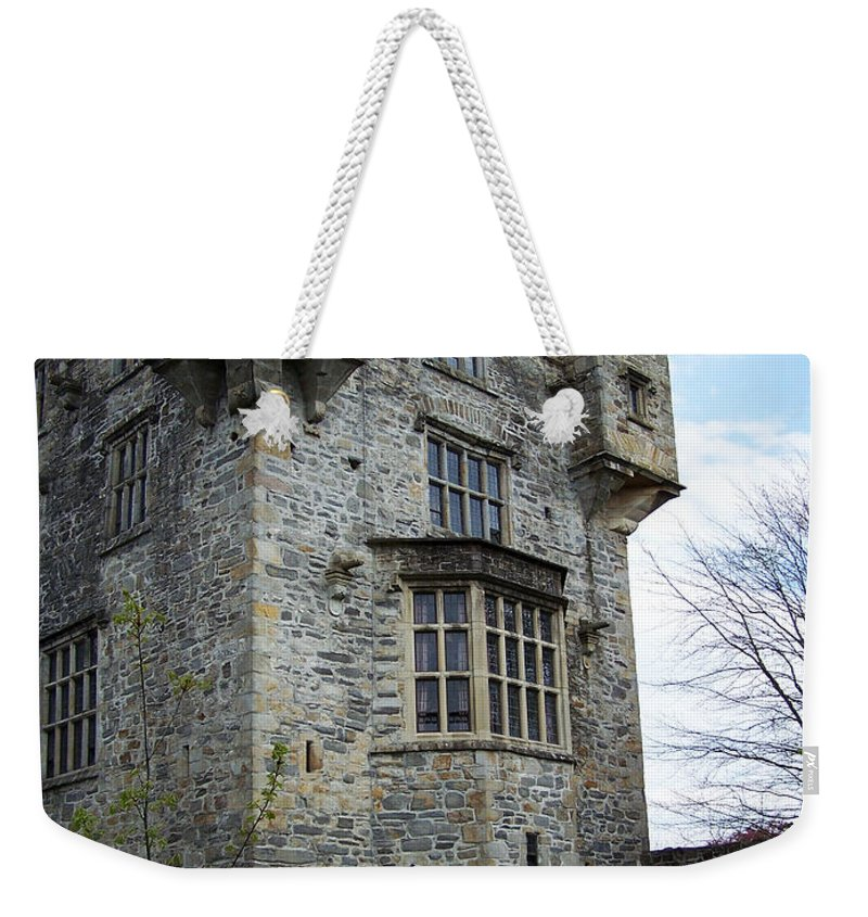 Ireland Weekender Tote Bag featuring the photograph The Keep At Donegal Castle Ireland by Teresa Mucha