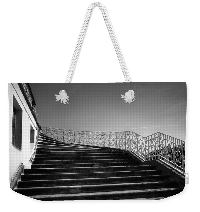 Scenery Weekender Tote Bag featuring the photograph The Kings Steps by Dorit Fuhg