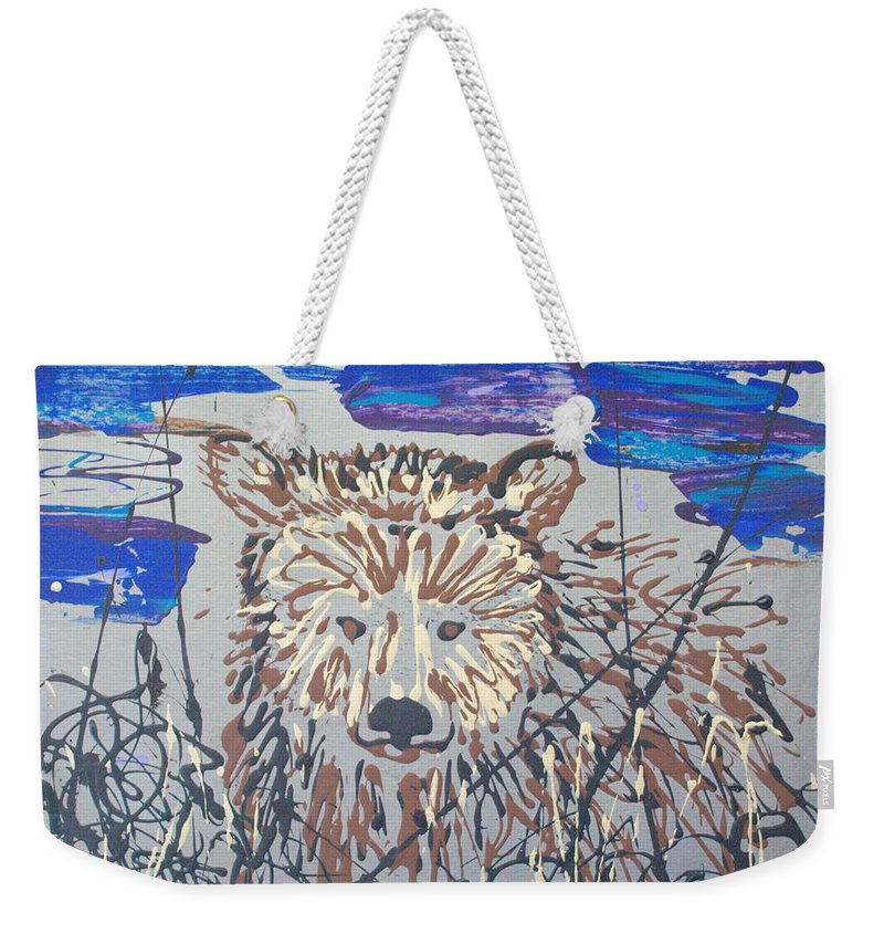 Abstract/impressionist Painting Weekender Tote Bag featuring the painting The Kodiak by J R Seymour