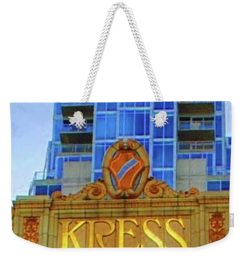 Kress Weekender Tote Bag featuring the photograph The Kress by Jost Houk