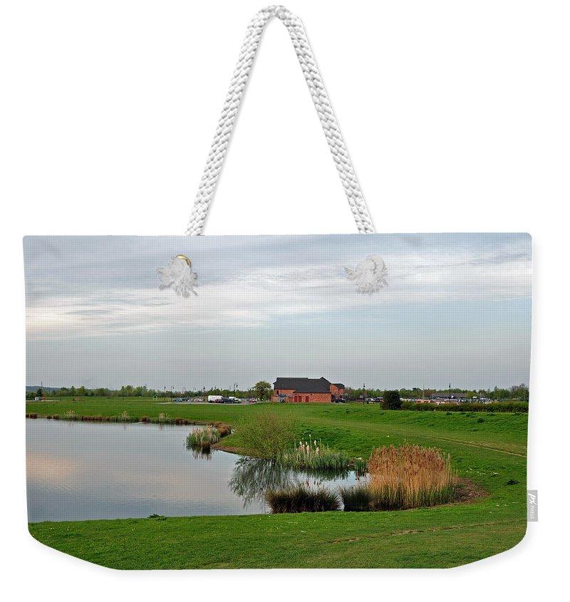Europe Weekender Tote Bag featuring the photograph The Lake At Barton Marina by Rod Johnson