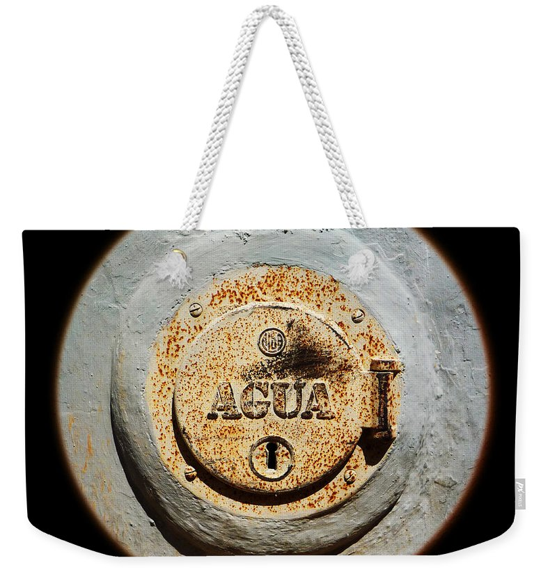 Lake Weekender Tote Bag featuring the photograph The Lake That Was by Charles Stuart