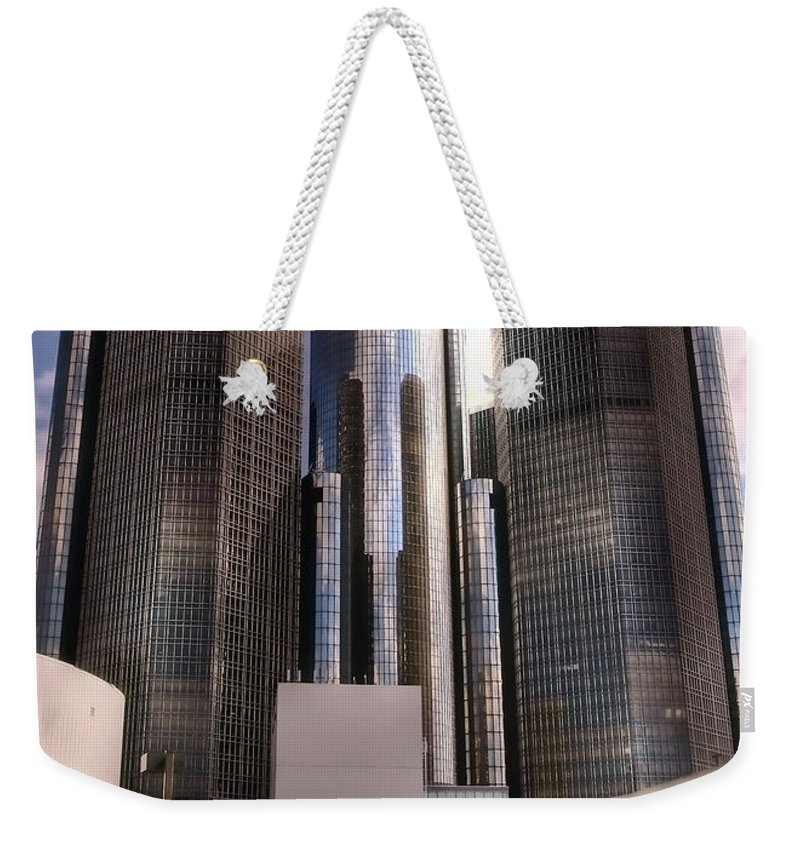 Detroit Weekender Tote Bag featuring the photograph The Land Of Oz by Gordon Dean II